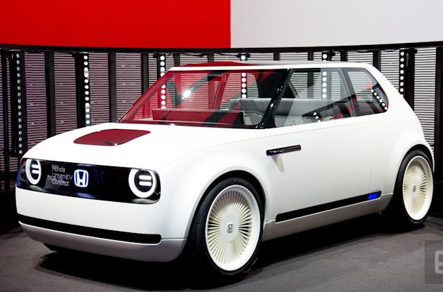 Honda's Urban EV Concept is a throwback to the old Civic