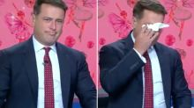 Karl Stefanovic breaks down in tears