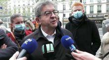 """Conflans-Sainte-Honorine: Mélenchon appelle les Français à être """"autour de nos école"""""""