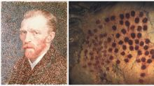 It turns out archaeologists were using pointillism long before Van Gogh made it famous