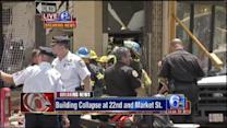 Action News coverage of building collapse