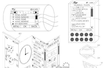 LG flexible display patent application includes fever-dreams of future devices