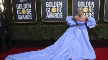 Lady Gaga zollt mit Golden-Globes-Kleid Judy Garland Tribut