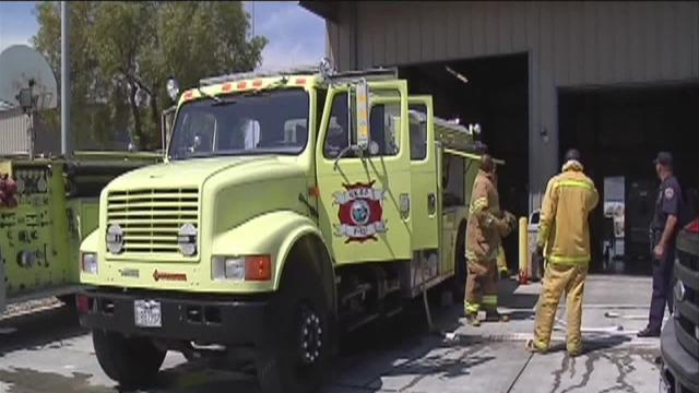 Firefighter inmates in Kern County
