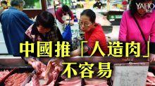 中國推「人造肉」不容易