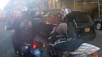 Bikers attack SUV with couple, toddler after 50-block chase, cops say