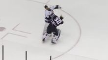 ECHL goalies drop the gloves, get thrown out of game