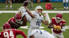Chargers eye more from Justin Herbert in second start, namely a win over Panthers