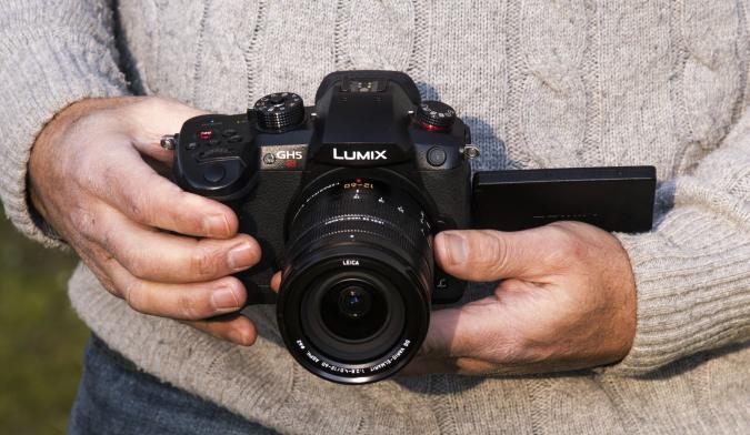 Panasonic GH5s mirrorless camera for video IRL