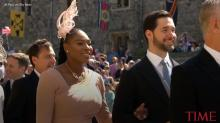 Serena Williams Just Made Her Grand Royal Wedding Entrance