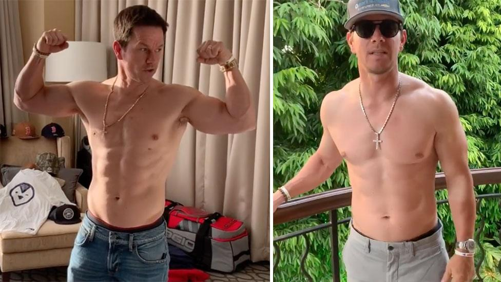 Mark Wahlberg takes gym obsession to a new level