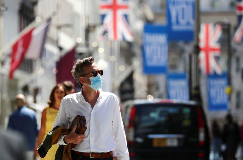 FILE PHOTO: The coronavirus disease (COVID-19) outbreak in London