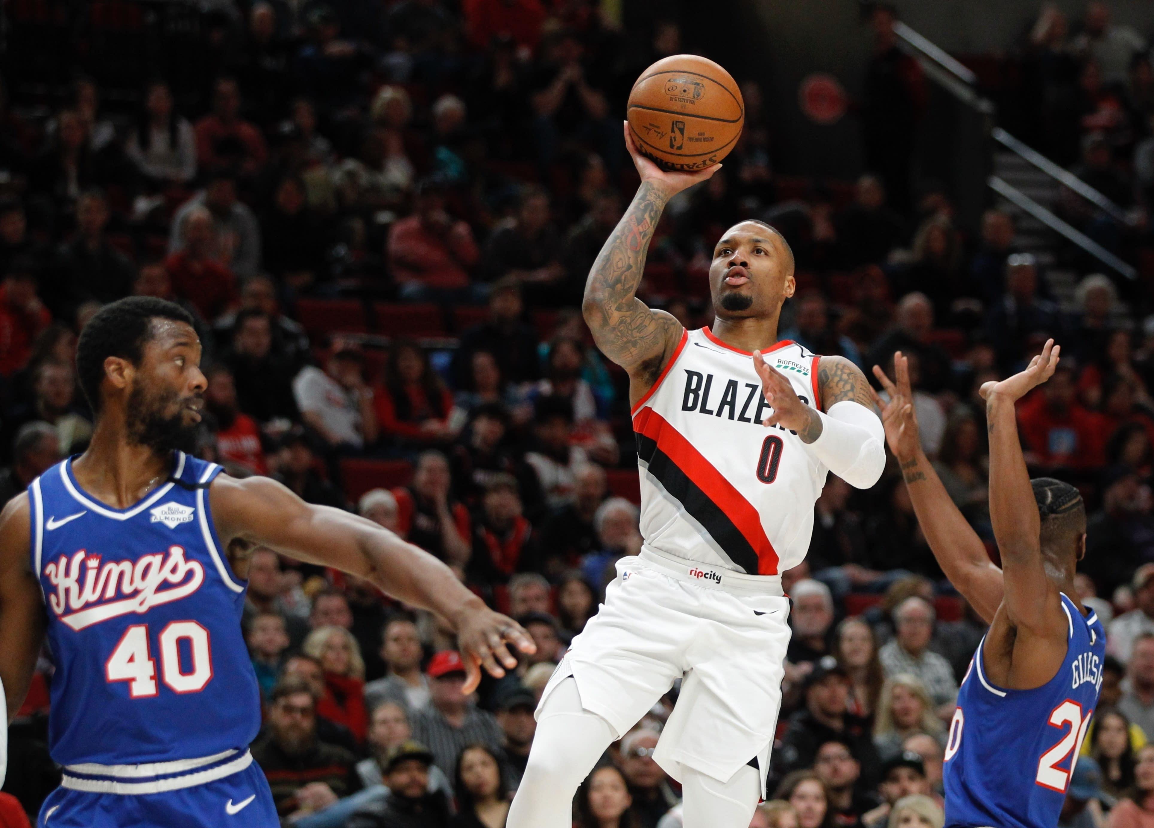 NBA Restart Lillard Basketball