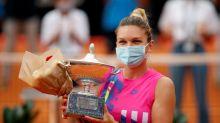 Halep gana Abierto de Italia tras retiro de Pliskova por lesión