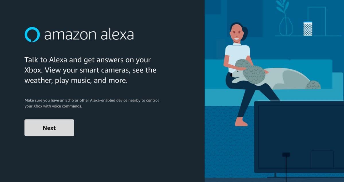 Amazon's new Alexa app runs directly on your Xbox