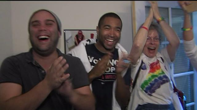 Sacramento Activists Celebrate Prop 8 Ruling