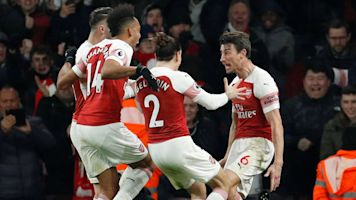 Arsenal rises to occasion in 'must-win' game