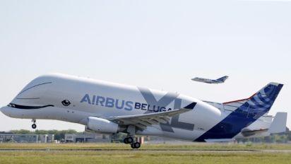 Primeiro voo do Beluga XL, o novo gigante da Airbus