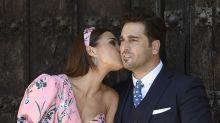 David Bustamante y Paula Echevarría, de lo más cariñosos en la comunión de su hija Daniella