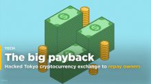Hacked Tokyo cryptocurrency exchange to repay owners $425 million