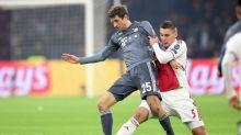 One-club Mueller makes it 300 games for Bayern Munich