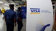 Visa profit jumps, lower cross-border volume weighs on shares