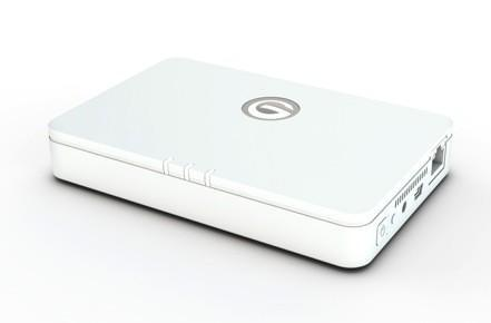 G-Technology's G-Connect offers 500GB of wireless storage, portable WiFi network to smartphone, tablet users