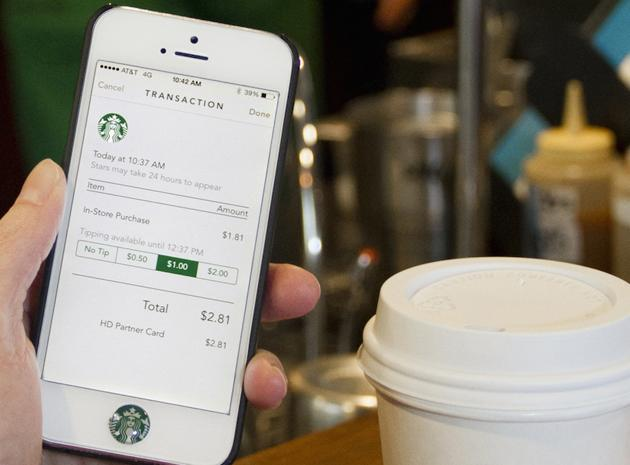 Starbucks wants you to use its app for payments in other stores