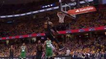 LeBron turns on the style as Cavs dominate Celtics
