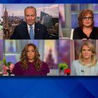 Chuck Schumer says he has no concerns about Biden facing Trump in debate