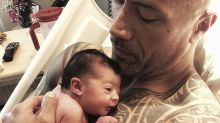 The Rock welcomes another baby girl