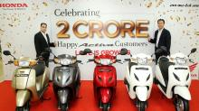 Honda Activa Crosses 2 Crore Sales Milestone, Creates Record in India