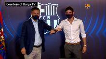 Barcellona, primi palleggi in blaugrana per Trincao