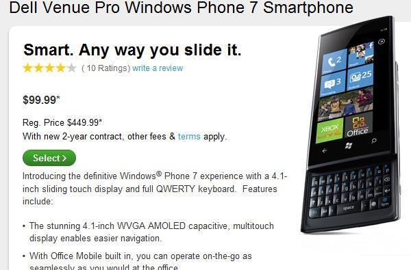 Dell Venue Pro finally available to order: $99 on contract, shipping December 9th