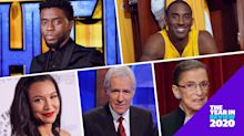 Chadwick Boseman, Naya Rivera, Alex Trebek and more celebs we lost in 2020