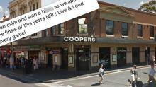 Sydney pub manager fired after 'joke' about violence against women