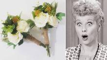 Kmart mum's incredible $13 wedding bouquet hack