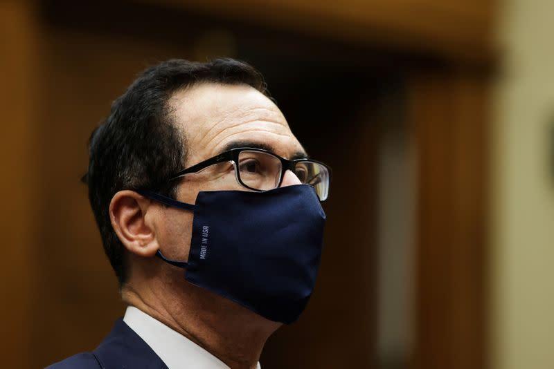 U.S. Treasury Secretary Mnuchin testifies before House Select Subcommittee on the Coronavirus Crisis