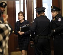 Chief justice's admonishment followed a note from Collins