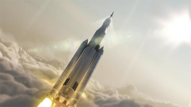 NASA's massive Space Launch System rocket takes off in 2018