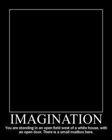 Imagination beats everything