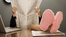 Será que os chinelos são a chave para melhorar a produtividade no local de trabalho?