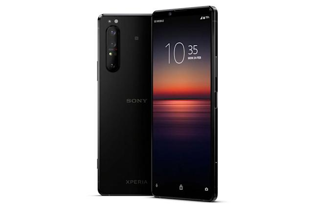 Sony's first 5G smartphone is the Xperia 1 II