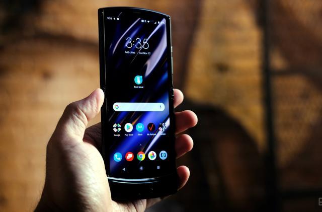 Motorola's revived RAZR is a fashion-forward foldable