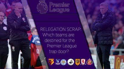 Premier League survival: Who avoids the drop?