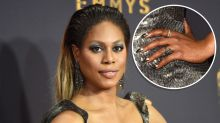 Laverne Cox's Emmy nails and the meaningful message behind them