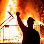 Fires light up Washington DC on third night of George Floyd protests