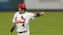 Molina leads Cards over Brewers 4-2 to open key 5-game set