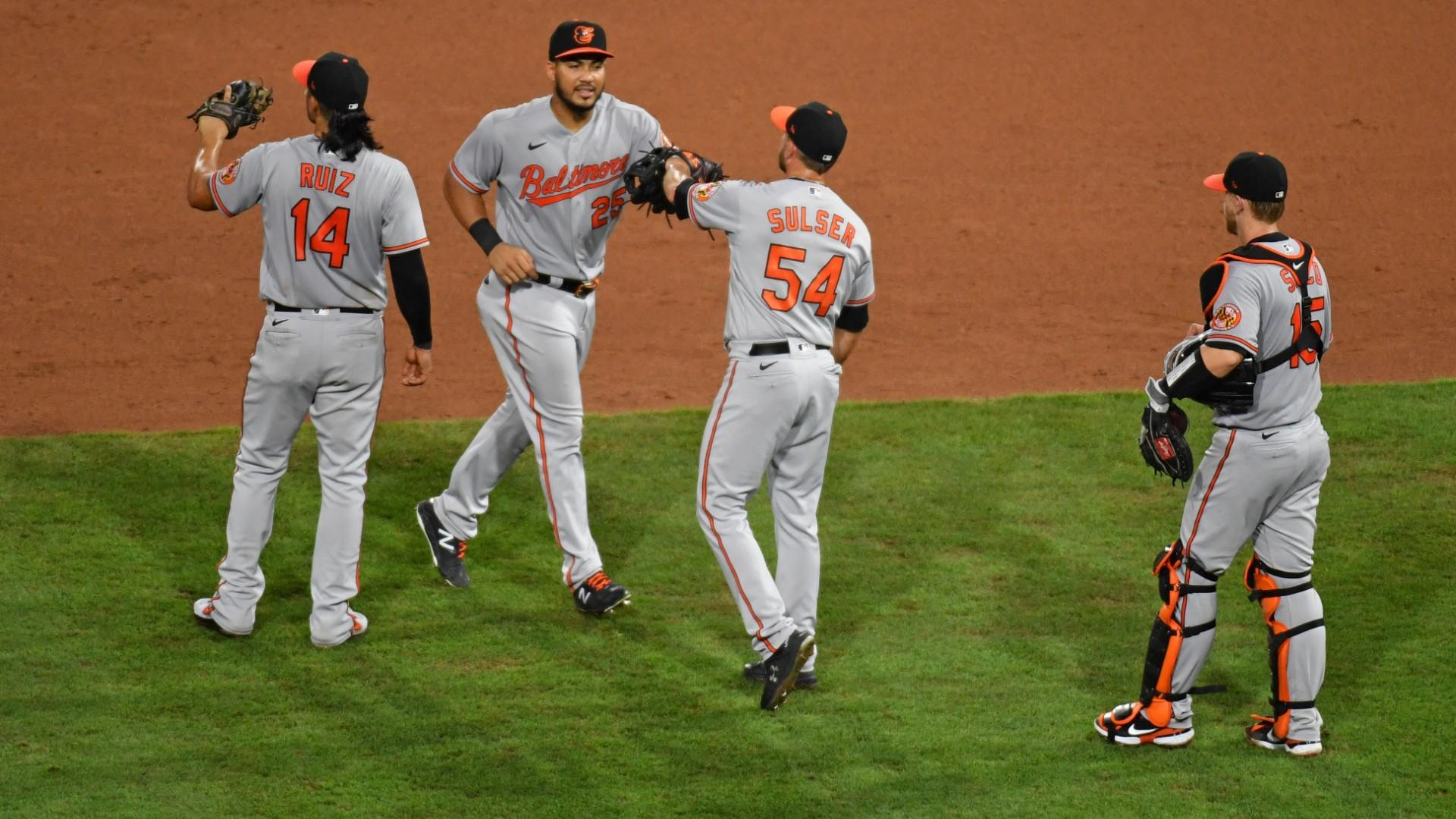 Orioles Twitter celebrates sweep of Phillies in emphatic fashion