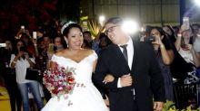 Ex-BBBs se reúnem para casamento de Elis Nair